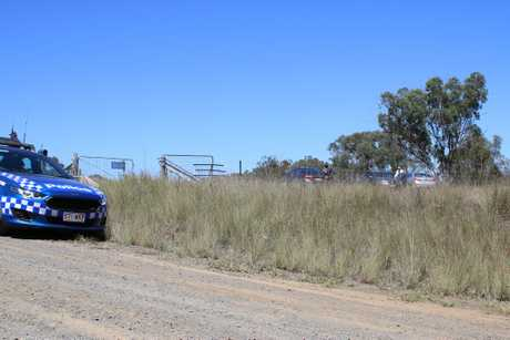ONGOING INVESTIGATIONS: Police are continuing to investigate the death of a man at a Freestone property this morning.