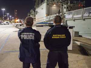 Border Force have arrested eight men