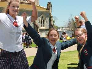Spirits high as last school bell rings