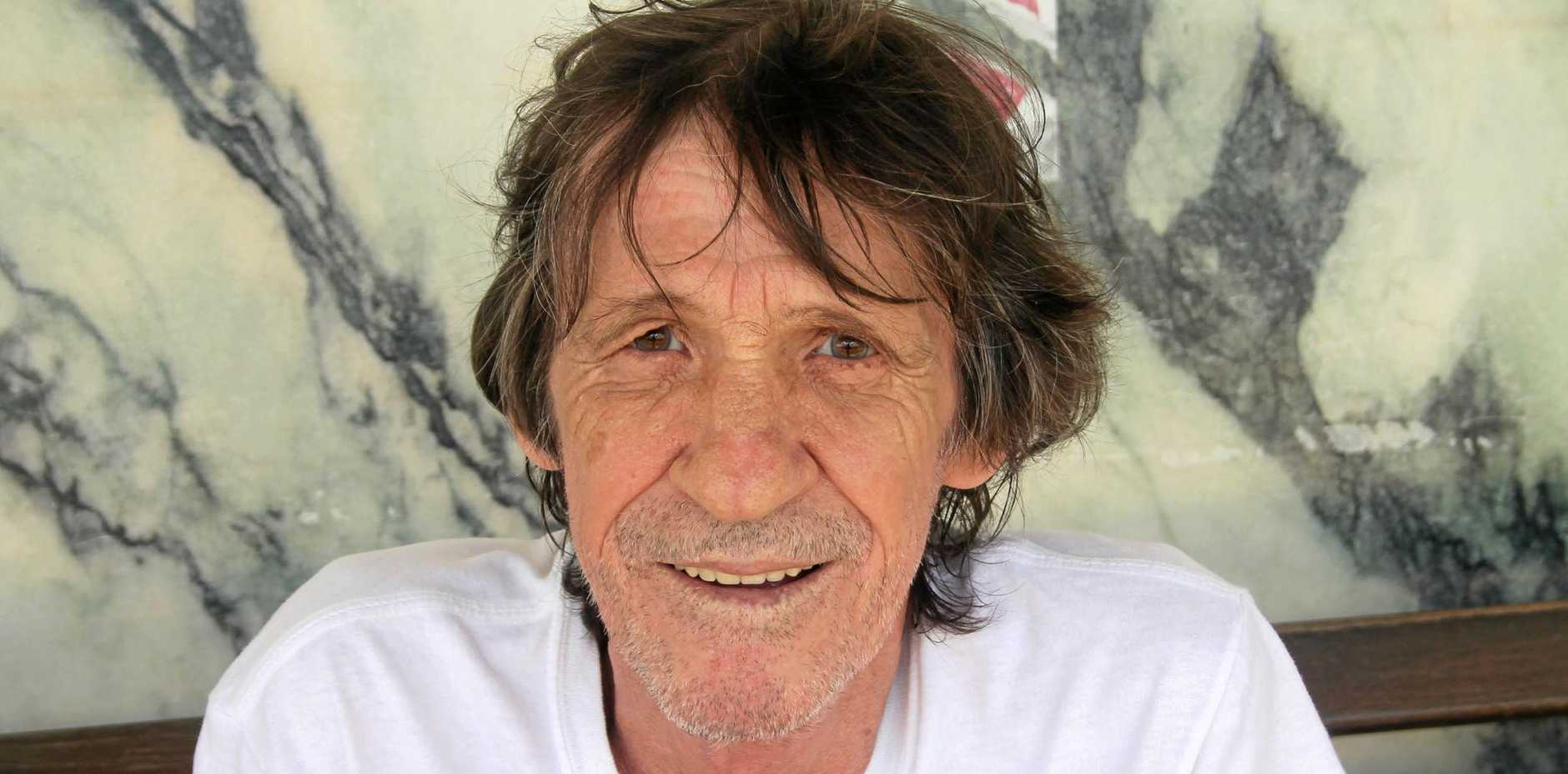 Jeff Sinclair when he was living in Airlie Beach, many years after he and sister Shirley lost touch.