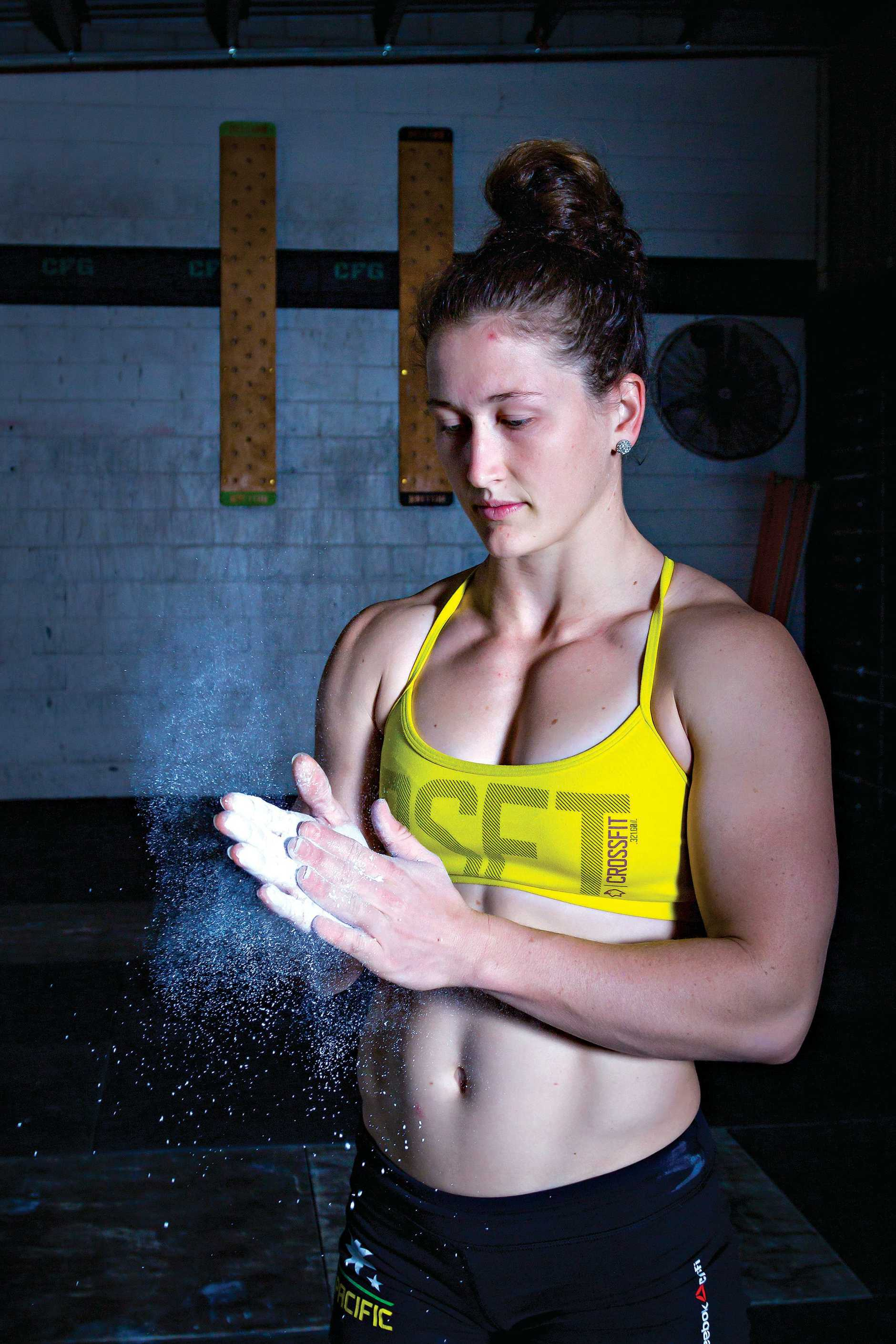 Tia-Clair Toomey encourages others to find the kind of fit that suits them best.