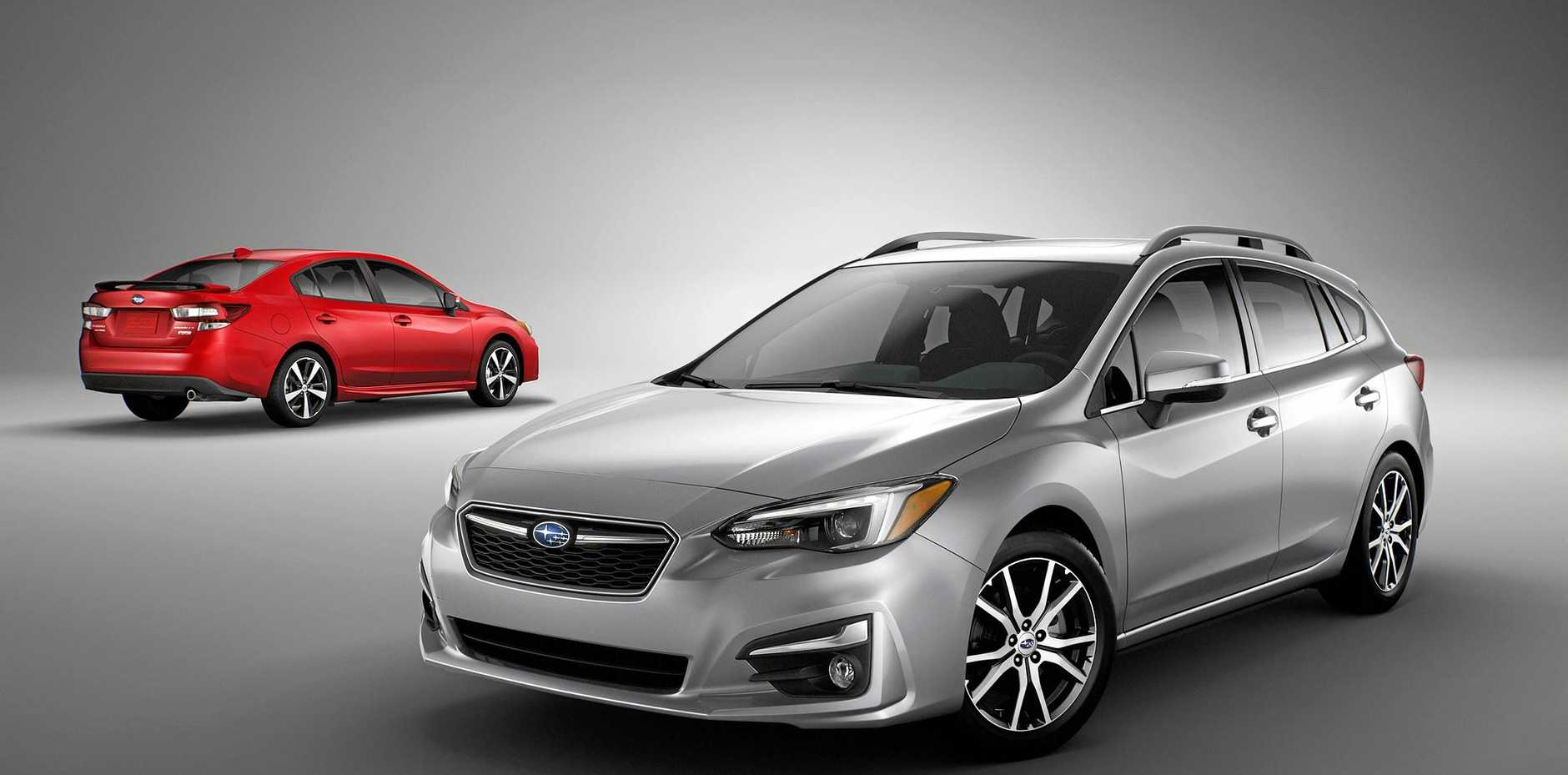 CHRISTMAS ARRIVAL: First deliveries of the 2017 Subaru Impreza will begin from December.