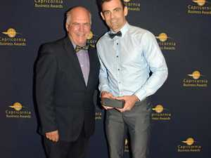Dan's fitness focus pays off at Capricornia Business Awards