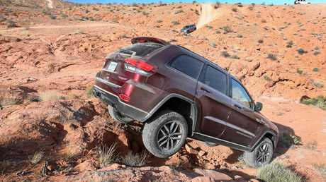 The jeep Grand Cherokee Trailhawk will be available in 2017.