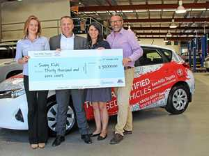Life looking brighter for kids with Ken Mills Toyota assistance