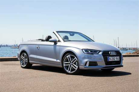 DROP YOUR TOP: The Audi A3 Cabriolet loses little in terms of ability.