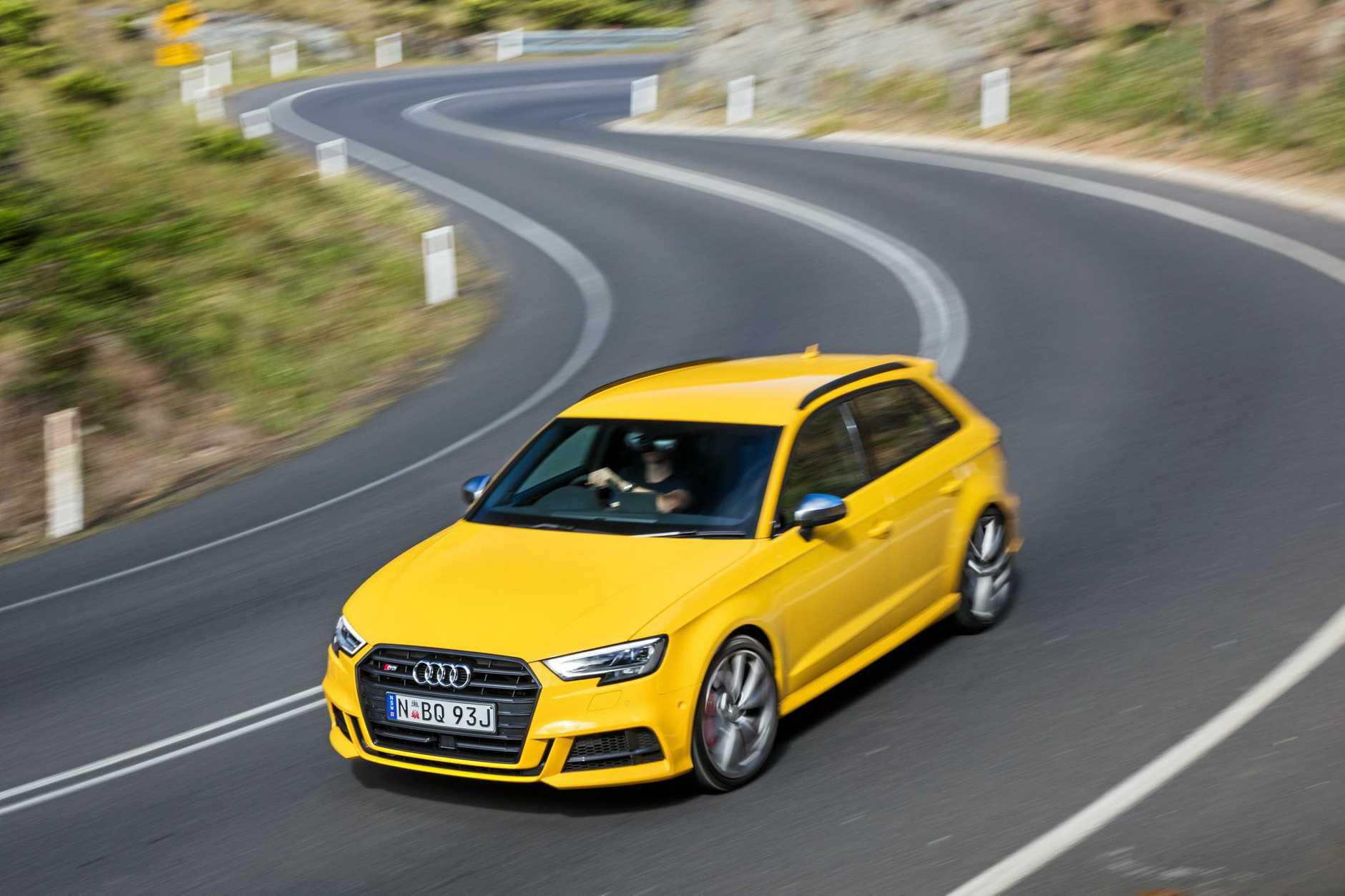 BRILLIANT COMBINATION: The range-topper is the Audi S3, but there three body styles and four engine options.