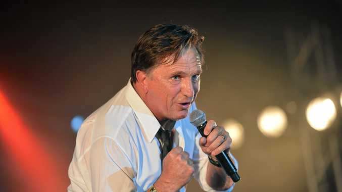 ROCK ON: Frankie J Holden will be in Gympie next weekend to shake, rattle and roll.