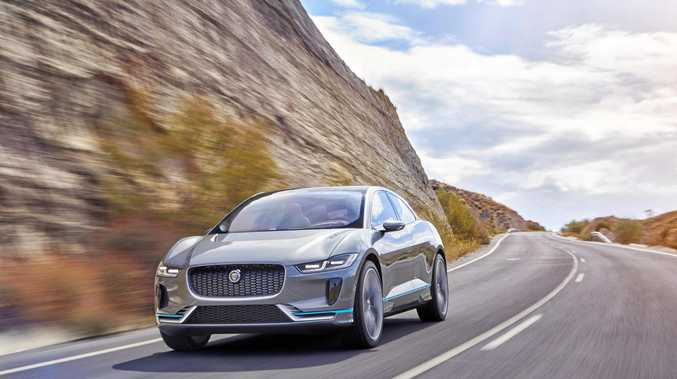 DRIVER-FOCUSED: The Jaguar I-Pace Concept car.