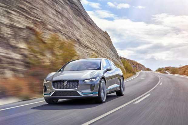 DRIVER-FOCUSED: The Jaguar I-Pace Concept car.