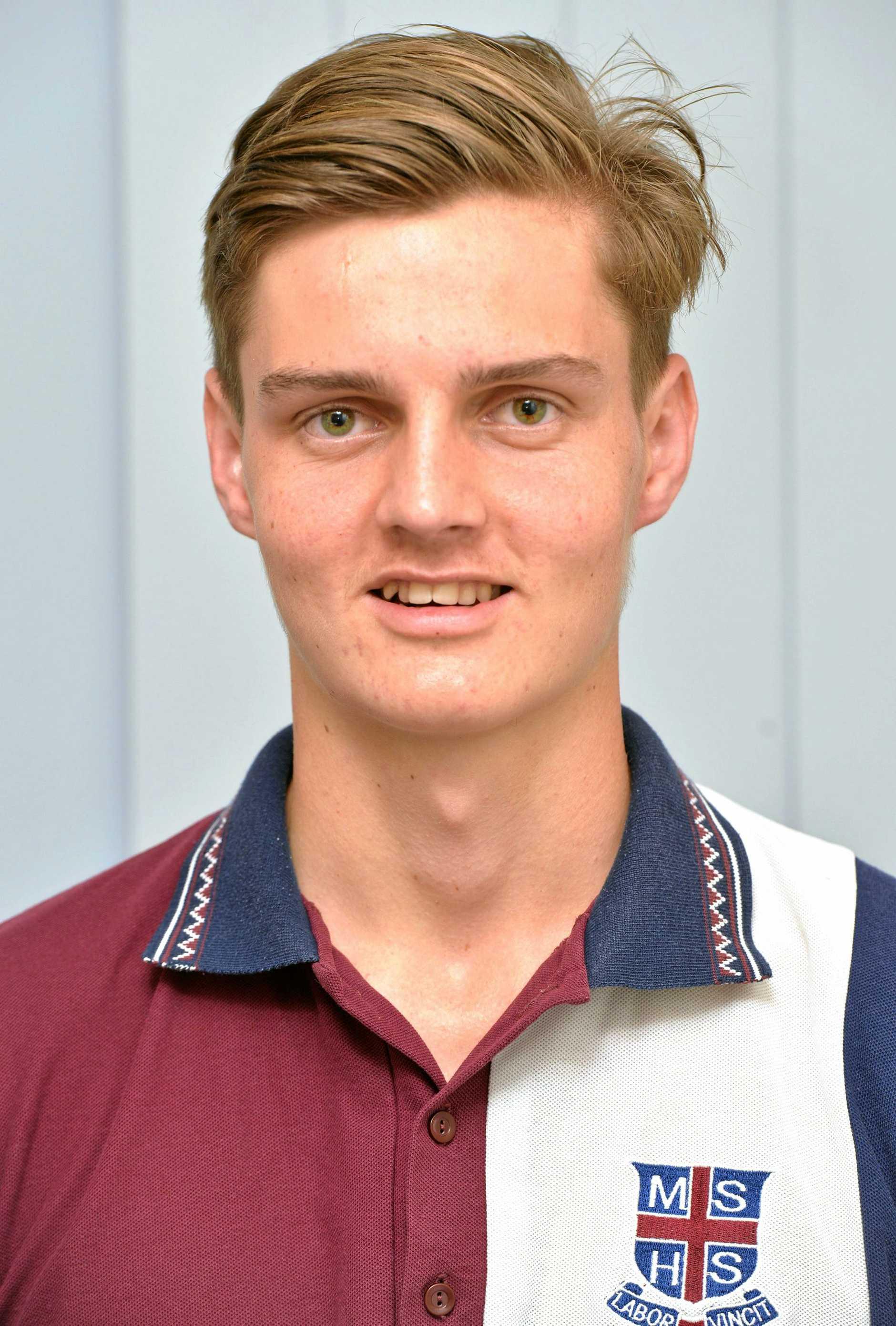 Mackay State High School Student Harrison Arnold