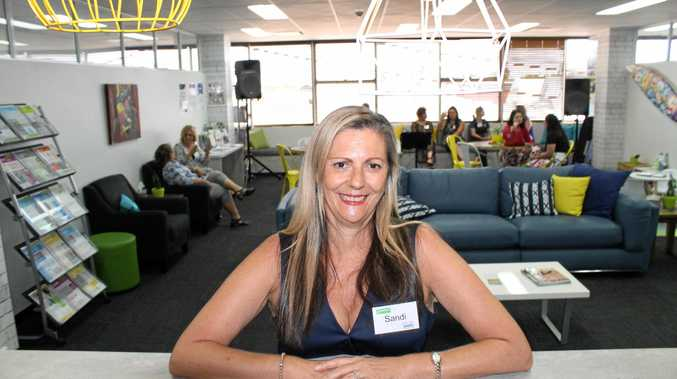 Sandi Winner, centre manager at Headspace Mackay, at the service's new and improved headquarters.