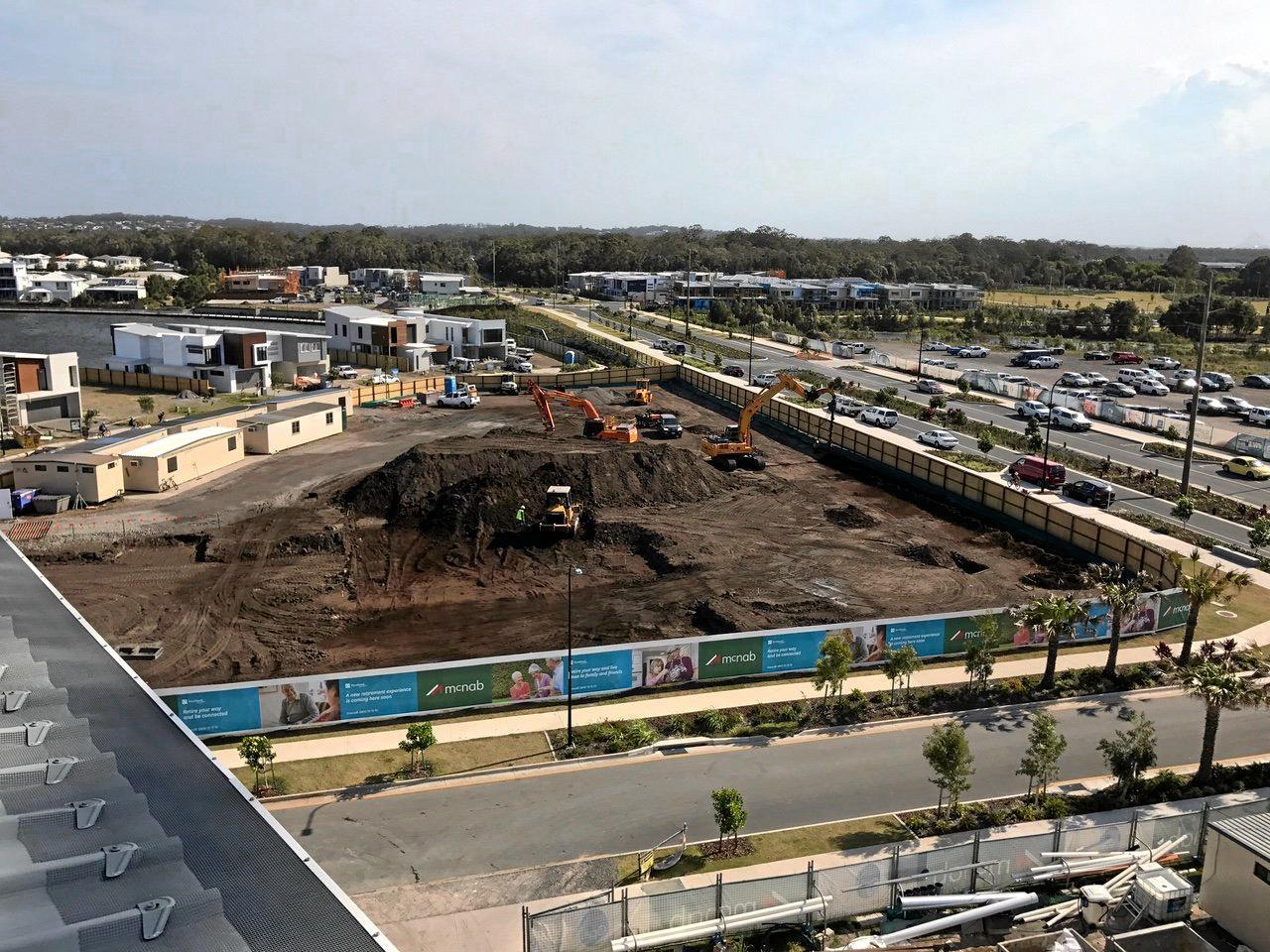 UNDERWAY: Work begins on the Oceanside Retirement Village.