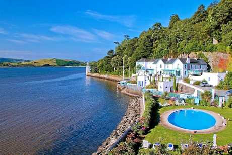 The coastal village of Portmeirion is a must-visit when you travel to Wales.