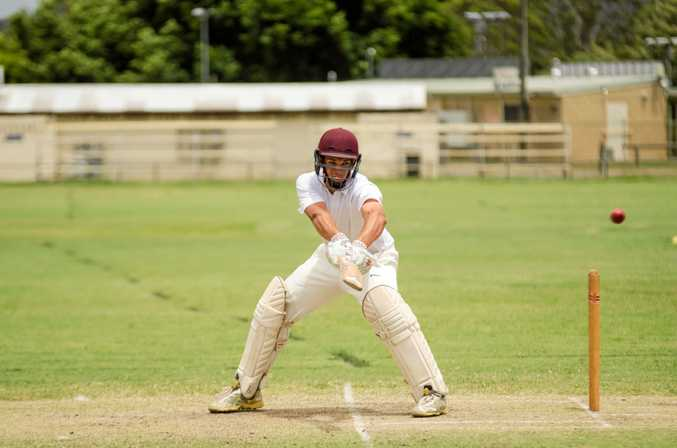FIRST GRADE: Brendan Mahaffey will open the batting for the Scorchers against Toombul.