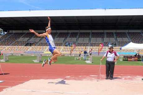 LONG JUMPER: Zane Branco is the Australian under-16 long jump champion.