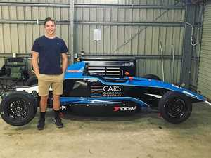 Forget schoolies, Harri Jones is off to drive race cars