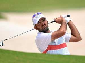 Lismore golfer leads in the Australian Open