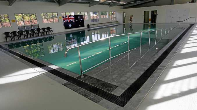 An indoor pool such as this for hydrotherapy patients is a step coser for Maleny after the Education Minister gave