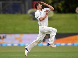 Black Caps debutant skittles Pakistan