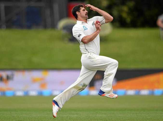 New Zealand bowler Colin de Grandhomme.