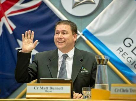 Gladstone Mayor Matt Burnett. Photo Paul Braven / The Observer