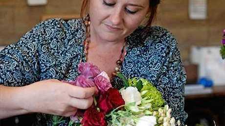Jess Meuger is a finalist in Tesselaar's Rockstar Florists national competition