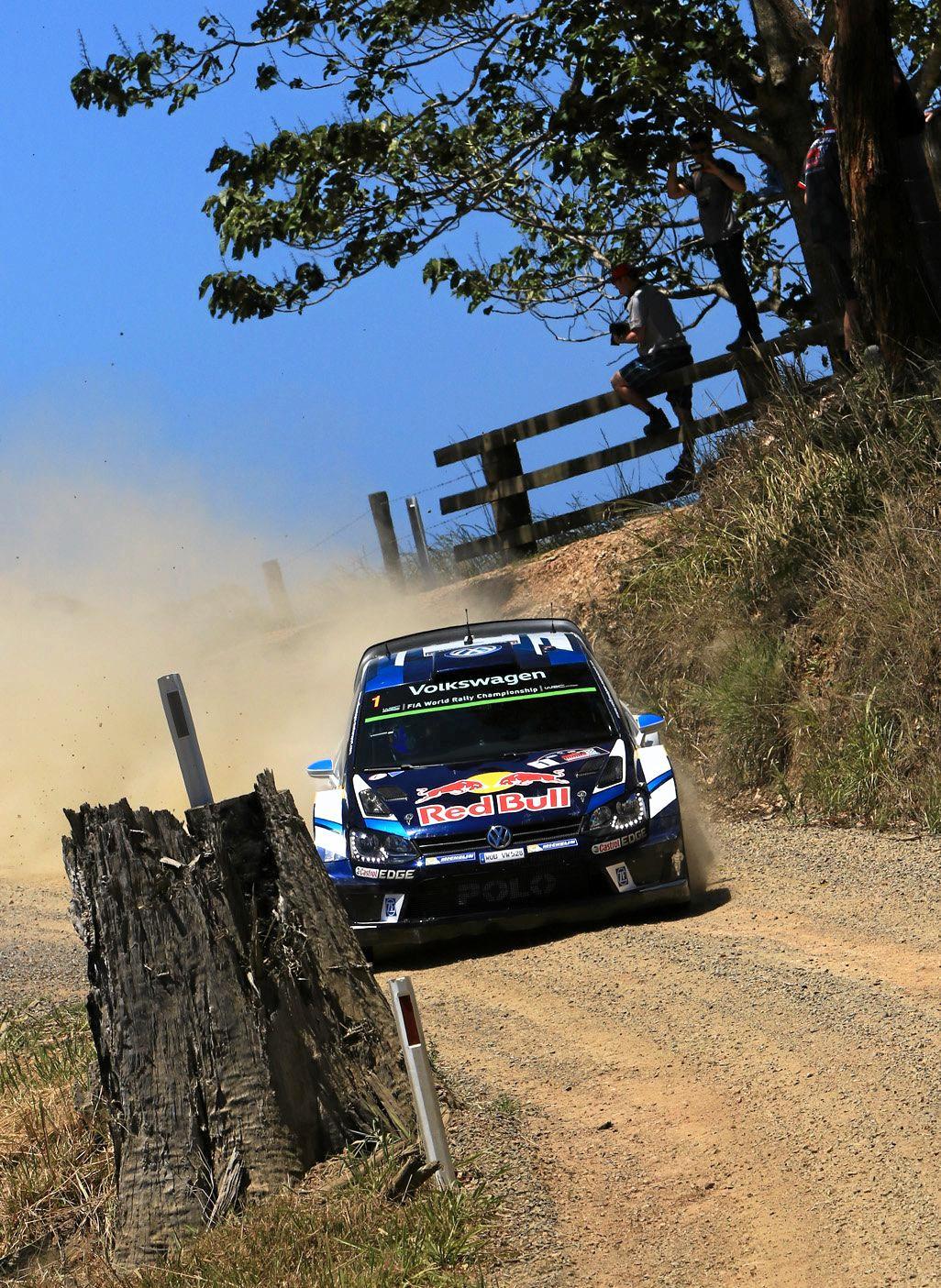 WRC Australia Rally - Friday - Day 1 S.Ogier 4.