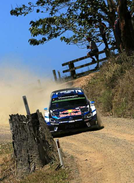 WRC Australia Rally - Friday - Day 1 S.Ogier 4.