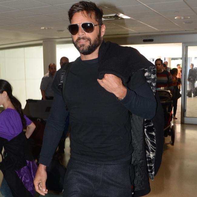 Singer Ricky Martin