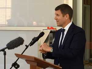 Premier Mike Baird at Lismore Base Hospital