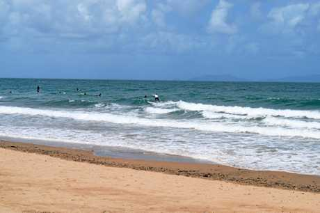 Surf was up in Mackay today.