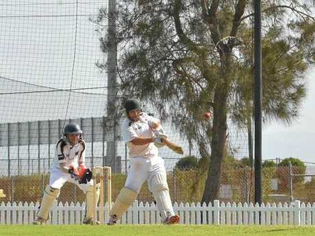TWO TONS: Luke Jackson scored a double century on Saturday for Walkerston against Southern Suburbs at Harrup Park.