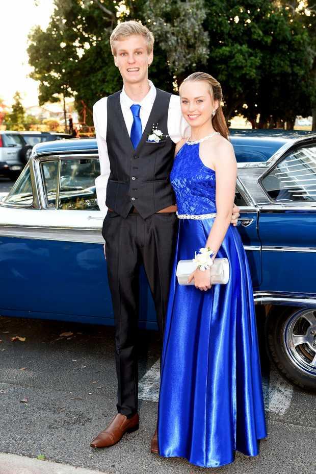 Hervey Bay State High School Year 12 Formal Josh Buy Photos
