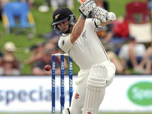 New Zealand's Kane Williamson scored a match-high 61 against Pakistan.