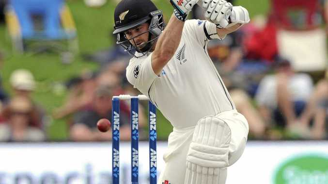 New Zealand's Kane Williamson scored a match-high 61 against Pakistan.