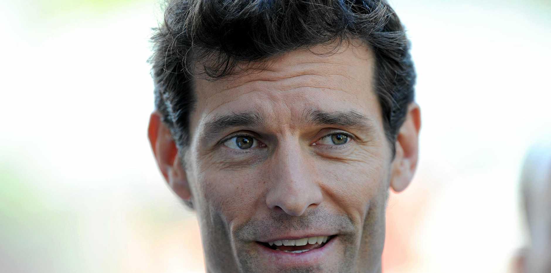Former Formula One driver Mark Webber, of Australia.