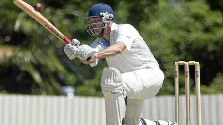 CENTURIAN: Brian May's 113 runs for Wests secured the Harding-Madsen Shield for the Toowoomba club in the grand-final against Ipswich's Northsiders.