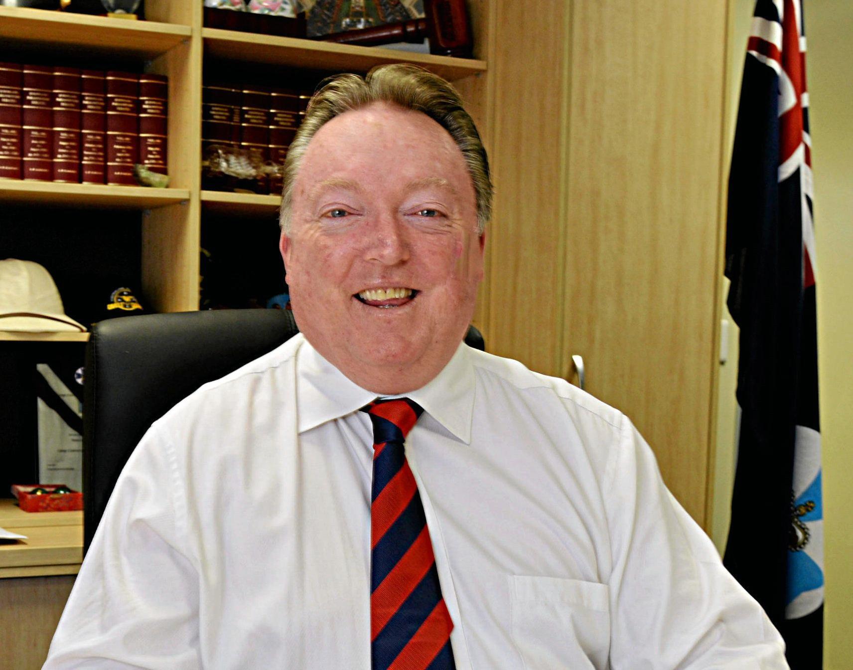 Noosa MP Glen Elmes.
