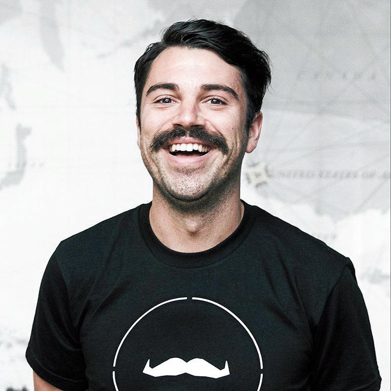 Kieran Ryan from the Movember Foundation.