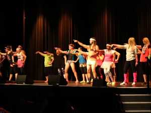 Caloundra High teachers say farewell to Year 12s with dance