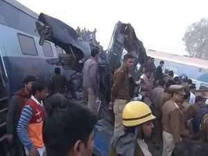 At least 60 people killed in train derailment
