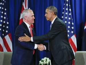 Obama and Turnbull meet to discuss trade and Trump