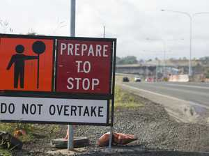 Month-long roadworks cause up to 15-minute delays