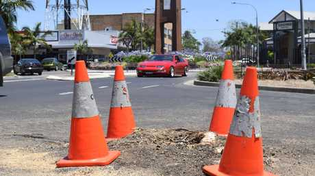 All that remains of a jacaranda tree removed from Pound St by Clarence Valley Council on Monday, 21st November, 2016.