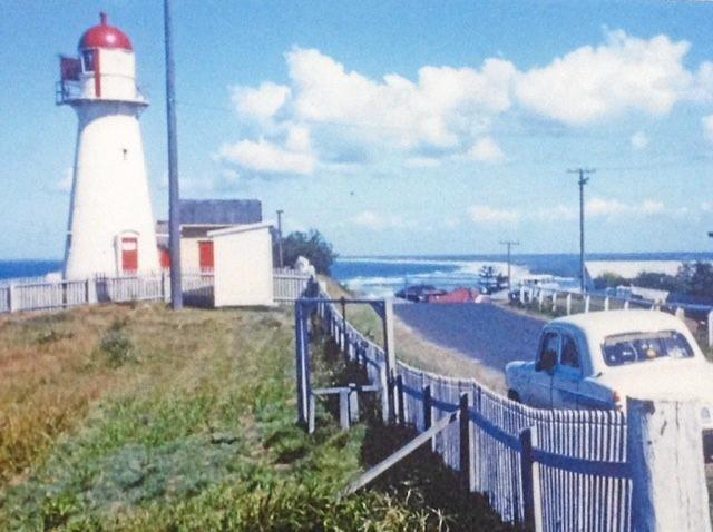 The original photo of Cliff Travers'car (Note: the lack of high-rise back then). This photo is included in the 2017 Sunshine Coast Council Calendar for April.