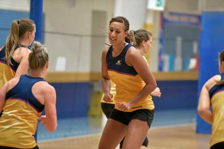 Geva Mentor has arrived on the Sunshine Coast and has started training with the Lightning Netball team.