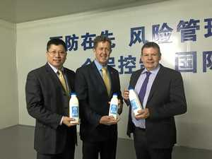 Aussie milk the right formula for China