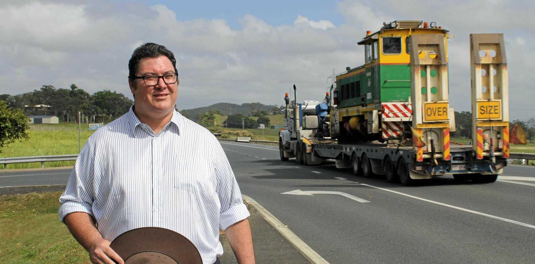 Dawson MP George Christensen has spoken out against Wilmar in parliament.