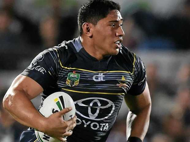 Jason Taumalolo of the North Queensland Cowboys.